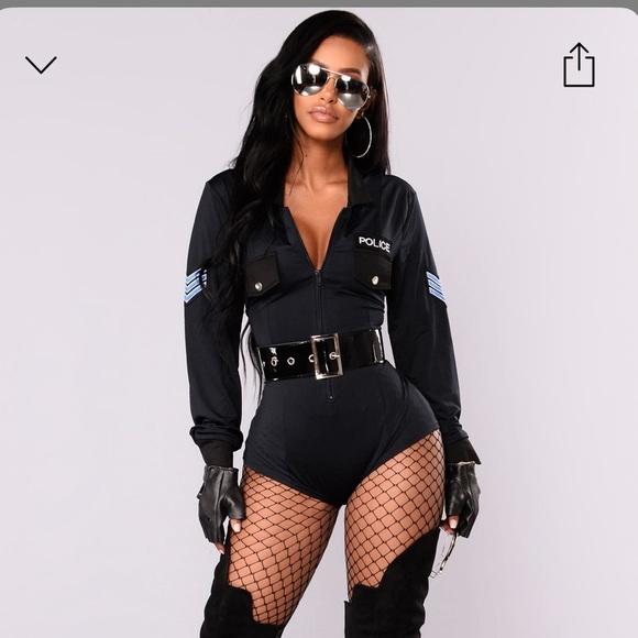 Police Halloween costume!